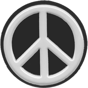 Peace Sign Lapel Pin