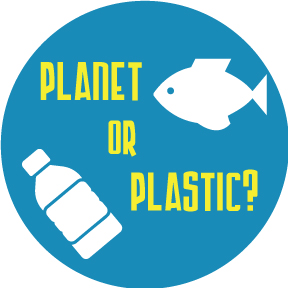 Planet Or Plastic Button