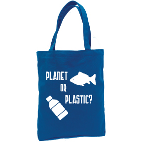 Planet Or Plastic Tote Bag