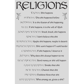 Religions-Poster