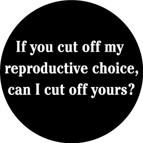 Reproductive Choice Button