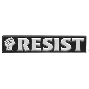 Resist-Lapel-Pin