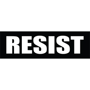 Resist-Sticker