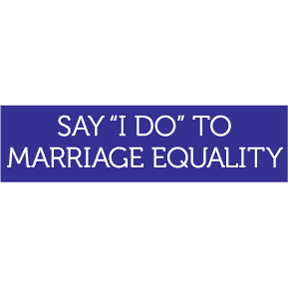Say I Do Bumper Sticker