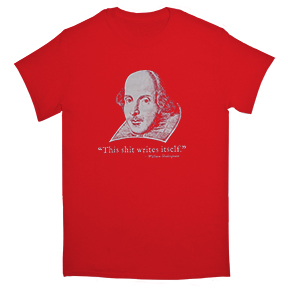 Shakespeare-T-Shirt