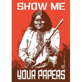 Show Me Papers Geronimo 2x3 Magnet