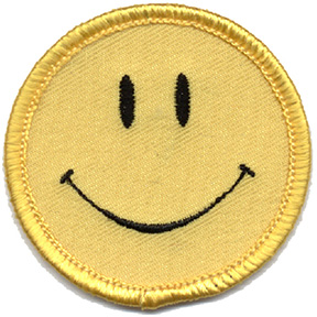 Smiley-Face-Patch