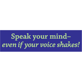 Speak-Your-Mind-Bumper-Sticker