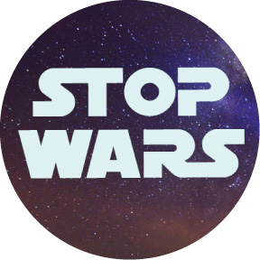 Stop-Wars-Button
