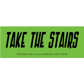 Take-The-Stairs-Sticker