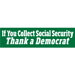 Thank-A-Democrat-Bumper-Sticker