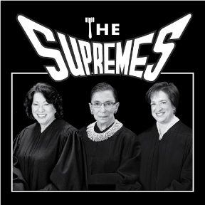 The Supremes Sticker