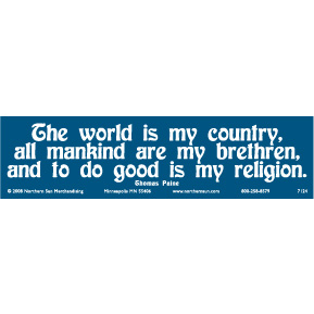 The-World-Is-My-Country-Bumper-Sticker