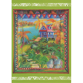 Toxic Waste Site Jane Evershed 4 Note Card Set