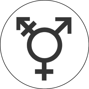 Transgender-Button