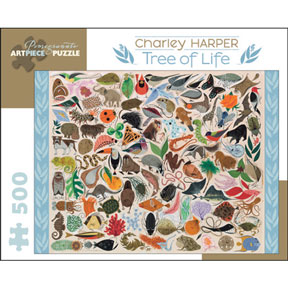 Tree Of Life Charley Harper Puzzle