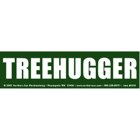 Treehugger-Bumper-Sticker