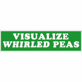 Visualize-Whirled-Peas-Bumper-Sticker