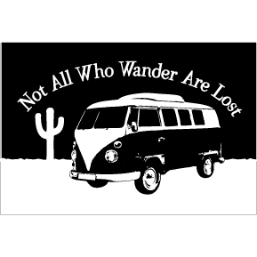 Wander Not Lost 2x3 Magnet