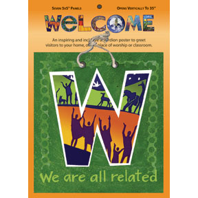 Welcome 5x35 Vertical Poster