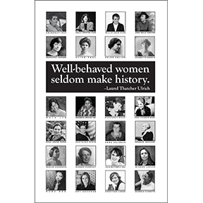 Well-Behaved Women Photos 8 Note Card Set