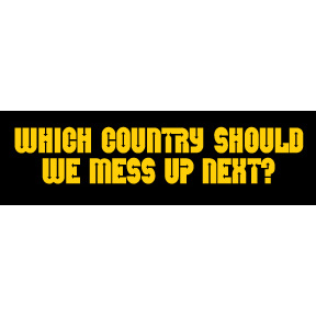 Which Country Mess Up Sticker