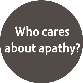 Who Cares About Apathy Button