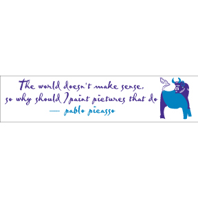 Why-Paint-Pablo-Picasso-Bumper-Sticker