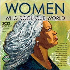 Women Who Rock Our World Calendar