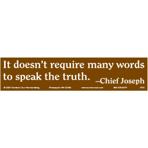 Words-Chief-Joseph-Bumper-Sticker