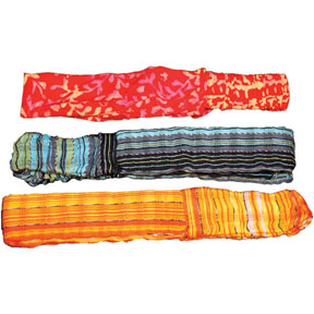 Woven and Batik Headbands