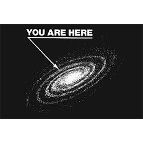 You Are Here 2x3 Magnet