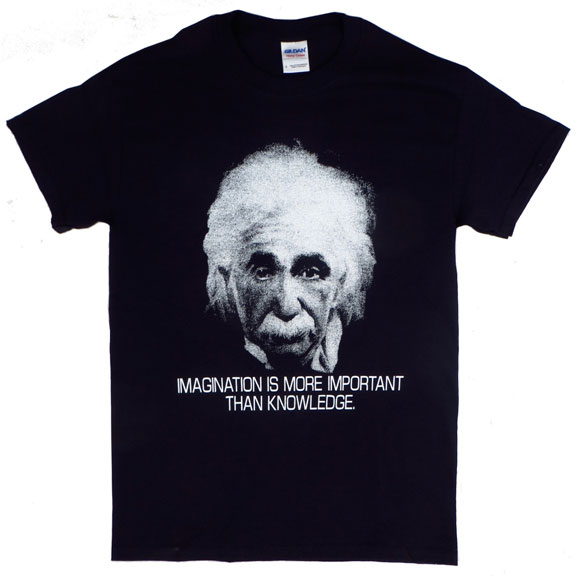 Imagination Albert Einstein TShirt