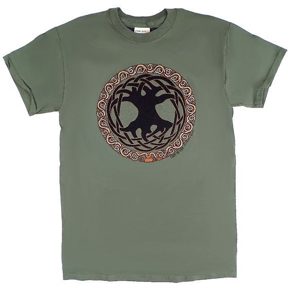Celtic Tree Of Life TShirt