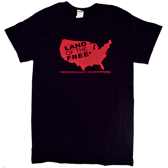 Land Of The Free TShirt GONE