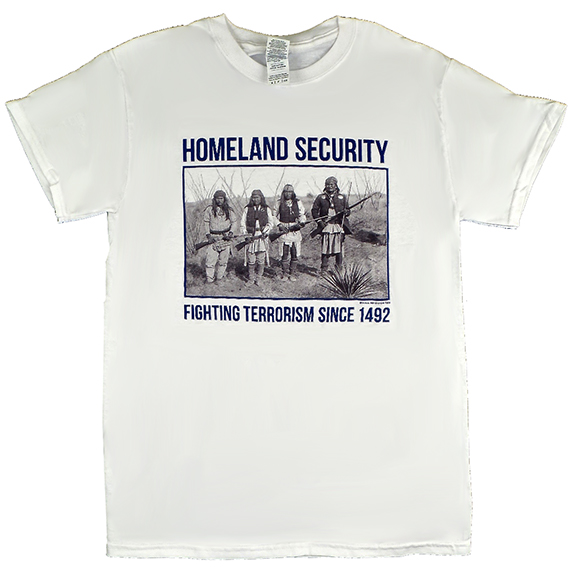 Homeland Security White TShirt