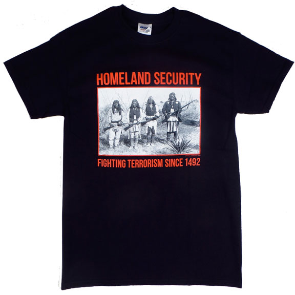 Homeland Security Black TShirt