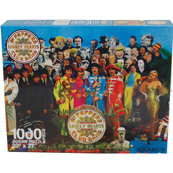 Sergeant Peppers Beatles Puzzle GONE