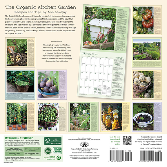 Organic Kitchen Calendar