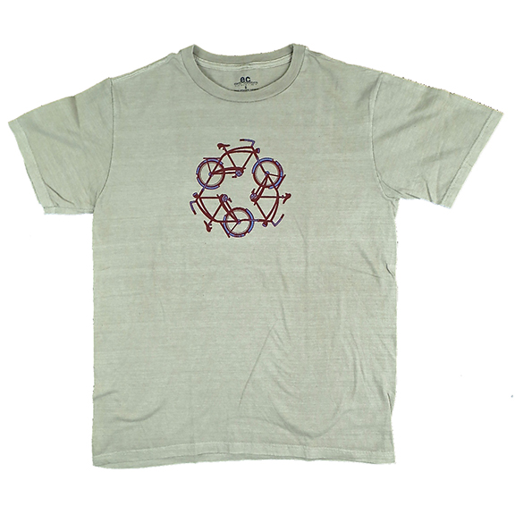 Recycle Organic Clay-Dyed TShirt