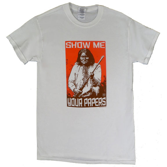 Show Me Papers Geronimo TShirt