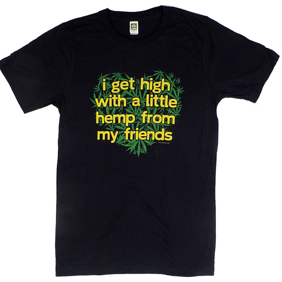 Hemp From Friends Hemp TShirt