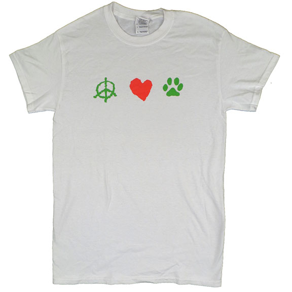 Peace Love Paws TShirt