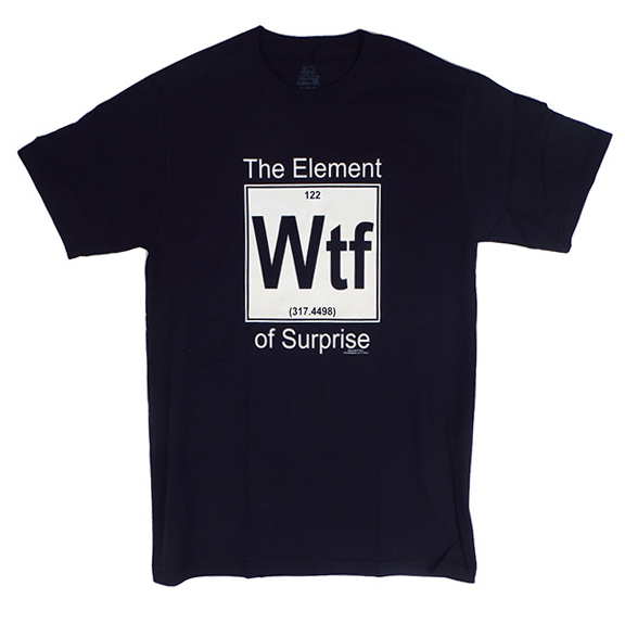 Element Of Surprise WTF Womens TShirt
