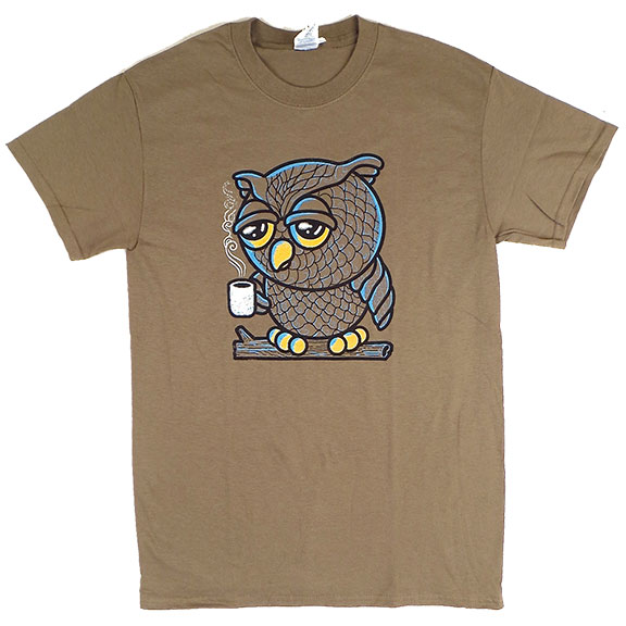 Owl I Want Is Coffee TShirt