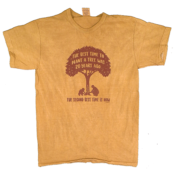 Plant A Tree Clay-Dyed TShirt
