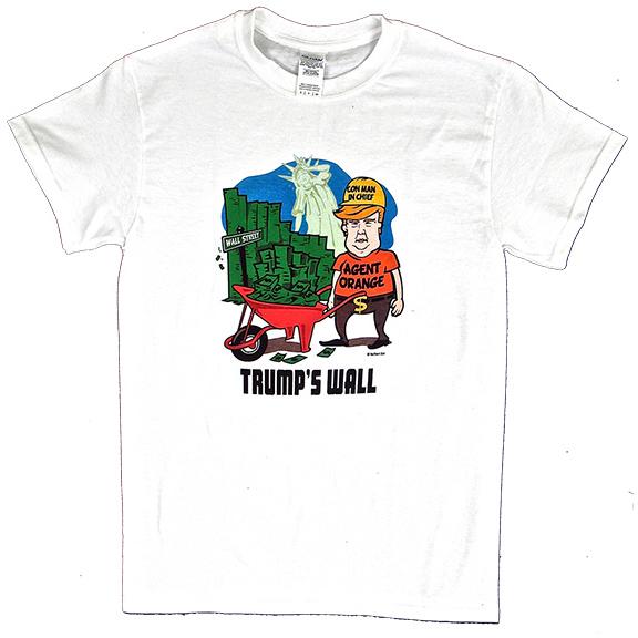 24891c20eae8 Trump's Wall TShirt