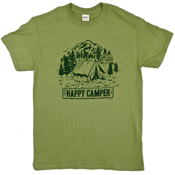 Happy Camper TShirt