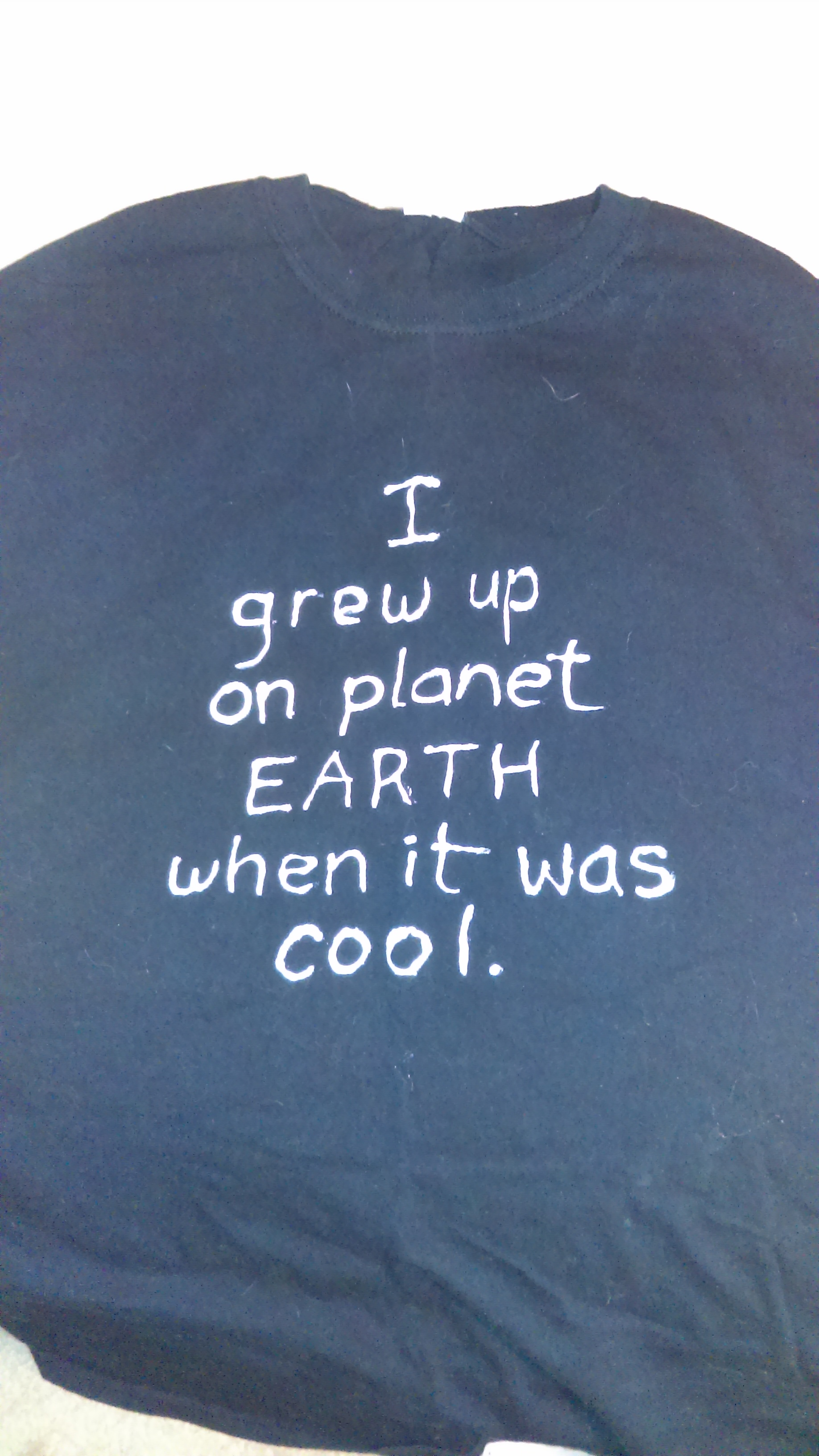 I grew up on Earth
