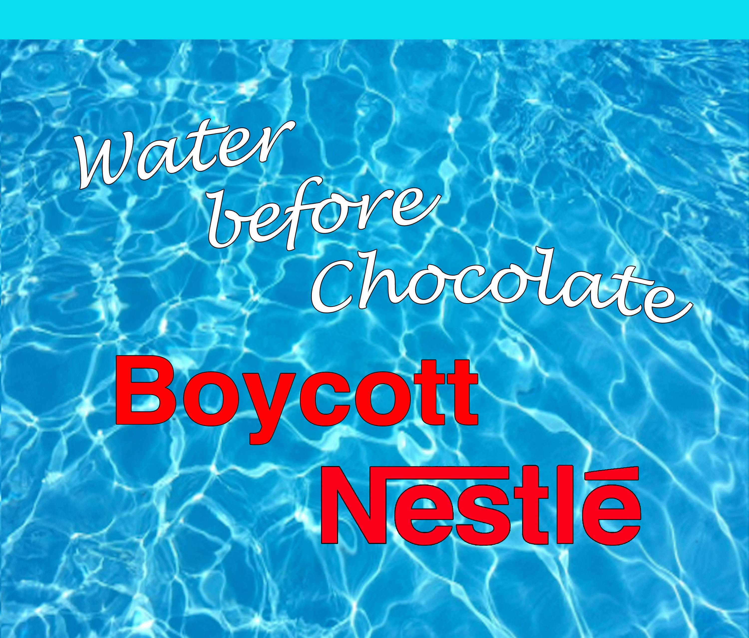 boycott Nestle shirr
